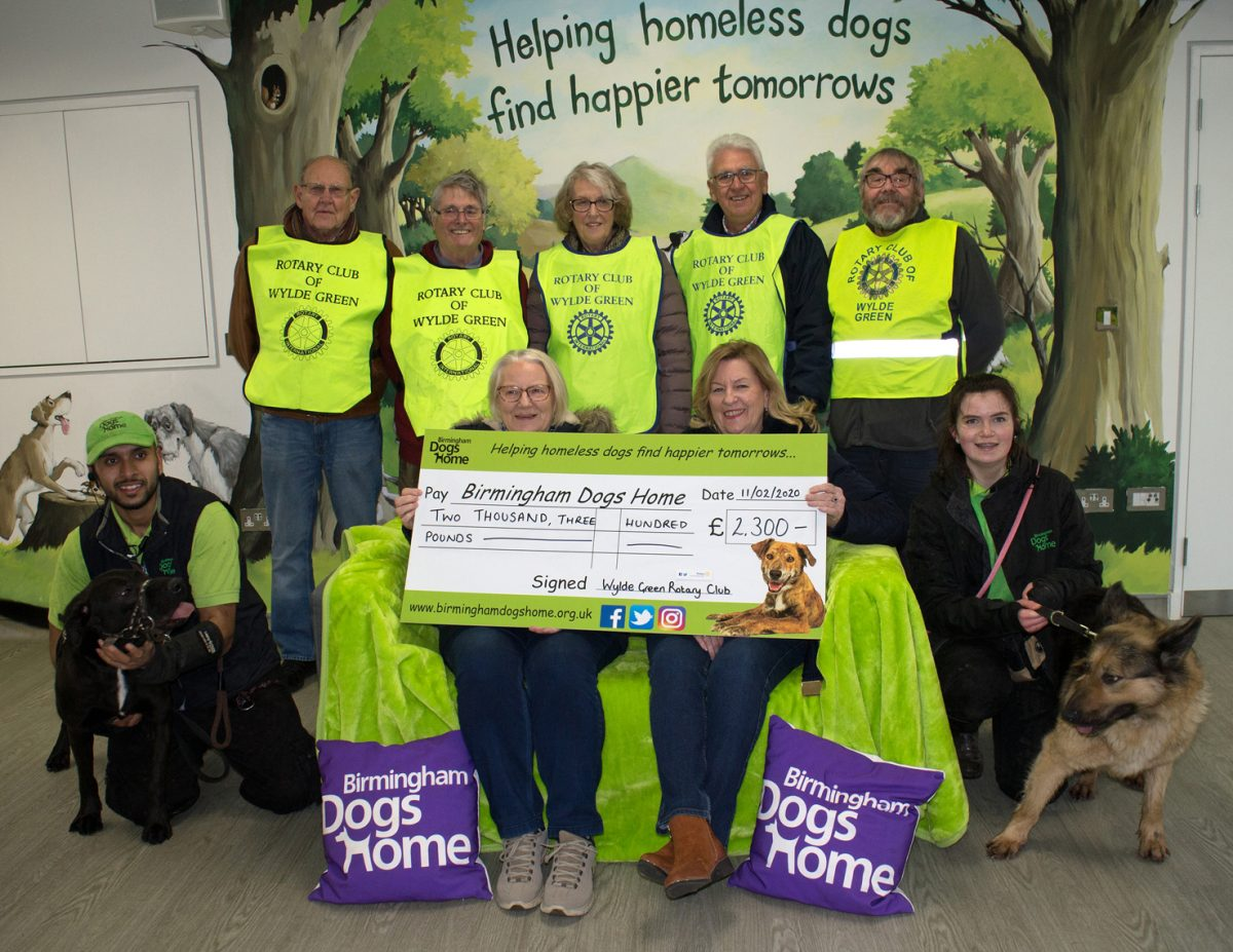 Rotary Club Walking For Man's Best Friend